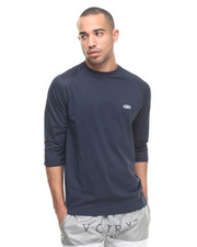 Long-Sleeve - Breezy 3/4 Mesh Tee
