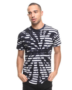 Men - Tie Dye Stripe Tee