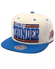 Mitchell & Ness - Oklahoma City Thunder New Block Snapback Cap