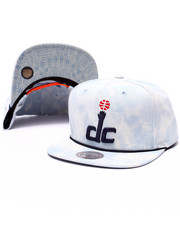Mitchell & Ness - Washington Wizards Lite Acid Wash Denim Snapback cap