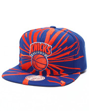Mitchell & Ness - New York Knicks HWC Earthquake Solid Snapback Cap