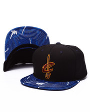 Men - Cleveland Cavaliers Team Color Stroke Camo Snapback Hat