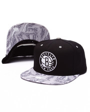 Mitchell & Ness - Brooklyn Nets Team Color Stroke Camo Snapback Hat