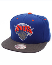 Mitchell & Ness - New York Knicks Current XL Reflective 2-Tone Snapback Cap