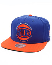 Mitchell & Ness - New York Knicks XL Logo 2 Tone Snapback Cap