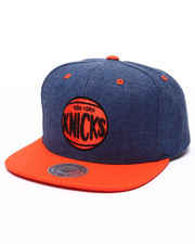 Mitchell & Ness - New York Knicks Denim Harry 2 Tone Snapback Cap