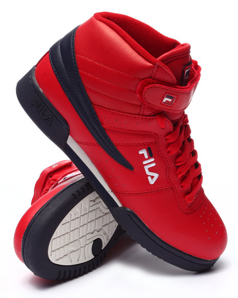 Fila - Men Red F13 Red Hi Top