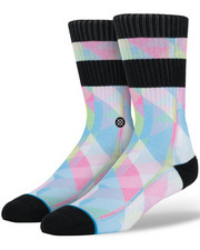 Men - Fractal Stripe Socks