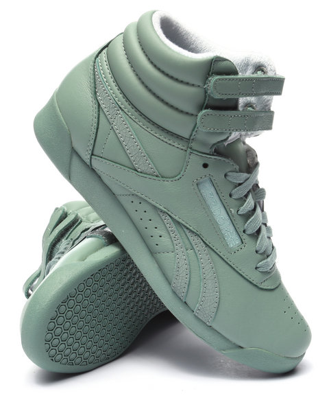 Ur-ID 223668 Reebok - Women Mint Freestyle Hi Spirit Sneakers