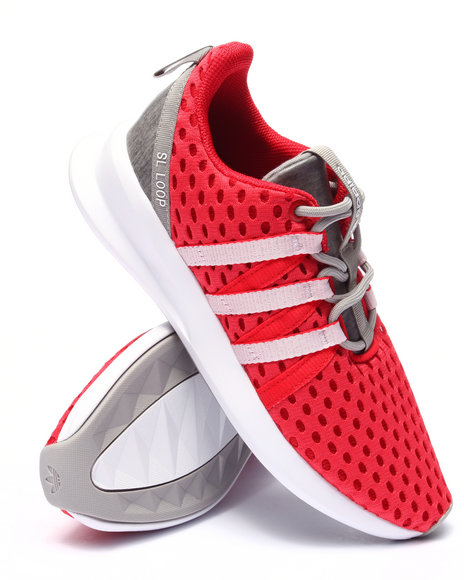 Ur-ID 223671 Adidas - Women Red Sl Loop Racer Sneakers