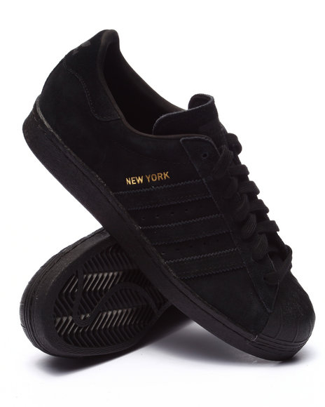 Adidas - Men Black Superstar 80S City Series - $95.99