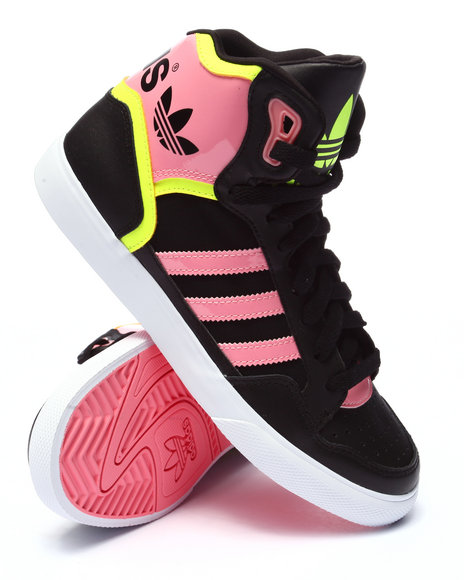 Ur-ID 223687 Adidas - Women Black,Pink Extaball W Sneakers