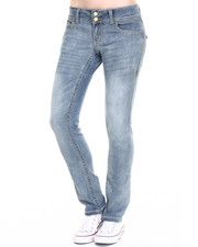 Jeans - Rebel by Right Straight Leg Heavy Stitch Jean
