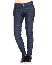 Jeans - Diamond Quilted Skinny