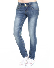 Black Friday Shop - Women - Rebel by Right Straight Leg Heavy Stitch Jean