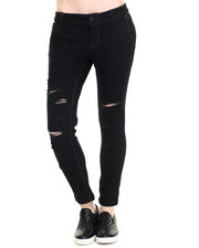 Women - Rebel by Right Roll Cuff Ankle Denim Pant