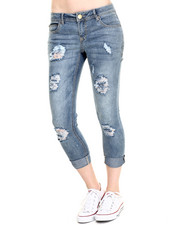 Basic Essentials - Rebel by Right Flap PKT Roll Cuff Ankle Jean