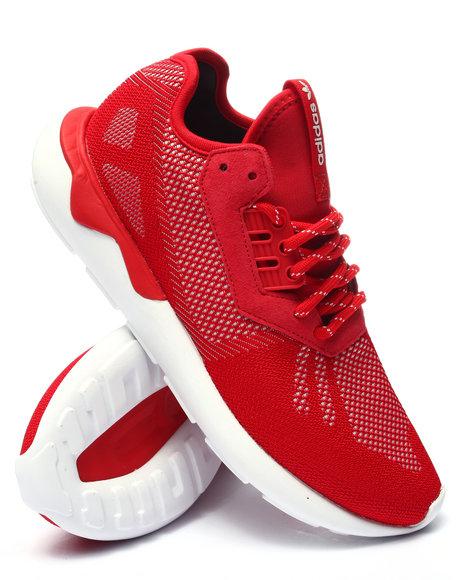 Ur-ID 223744 Adidas - Men Red Tubular Runner Weave