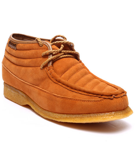 Ur-ID 223746 British Walkers - Men Tan Castle 3 / 4 Leather / Suede Shoes