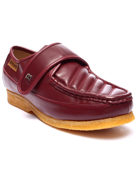 Ur-ID 223753 British Walkers - Men Maroon Royal Velcro Shoes