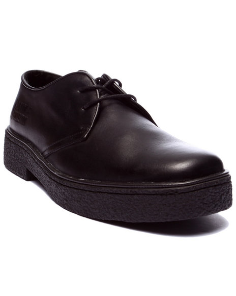 Ur-ID 223759 British Walkers - Men Black Playboy Low - Cut Leather Lace - Up Shoes