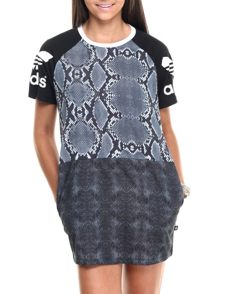 Adidas - Women Black L.A. Tee Dress