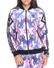 Women - Optic Bloom Superstar Track Jacket