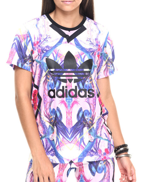 Adidas - Women Multi Optic Bloom Tee
