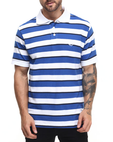 Enyce - Men Blue James Piquet Polo