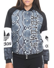 Outerwear - L.A. Varsity Printed Track Jacket