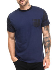 Men - Peace Plaid Tee