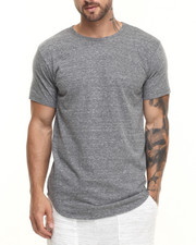 Shirts - ESSENTIALS TRI - BLEND ELONGATED S/S TEE