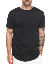 Shirts - ESSENTIALS QUILTED ELONGATED S/S TEE