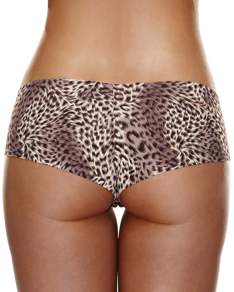 Ur-ID 223829 Hollywood Curves - Women Animal Print Invisible Booty Short