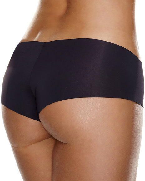 Ur-ID 223830 Hollywood Curves - Women Black Invisible Booty Short
