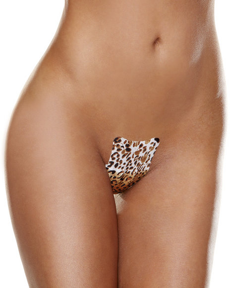 Ur-ID 223841 Hollywood Curves - Women Animal Print No Strings Attached 3-Pack