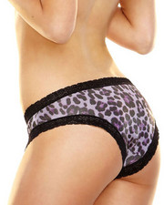 Women - Sexy Foil Bootyshort