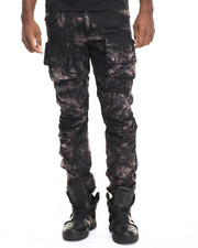 Pants - Genus Bleach Twill Cargo Jogger