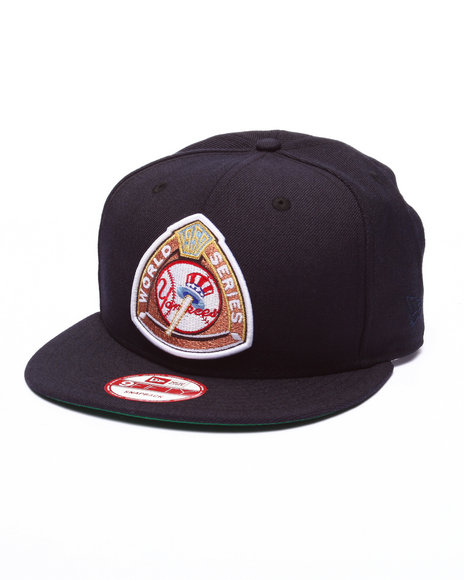 New Era - Men Navy New York Yankees Vintage Retro Patch 950 Snapback Hat