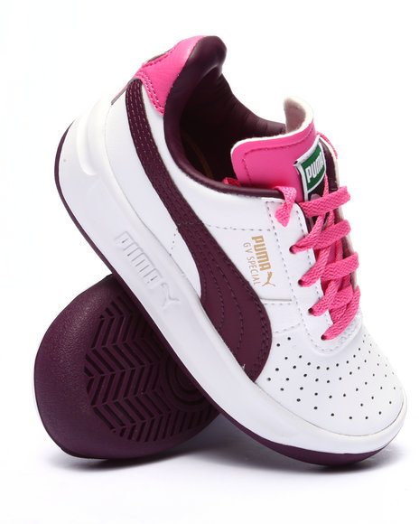 Puma - Girls Pink,White Gv Special Jr Sneakers (11-7) - $43.99