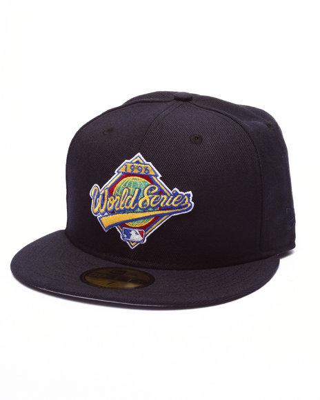 Ur-ID 223869 New Era - Men Navy New York Yankees 1996 World Series 5950 Fitted Hat