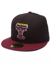 Fitted - Chicago Bulls Bordeaux edition fitted hat