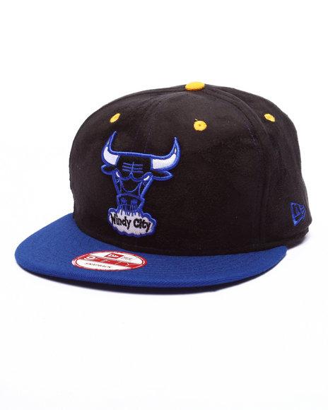 Ur-ID 223876 New Era - Men Black Chicago Bulls Blueray Edition 950 Snapback Hat