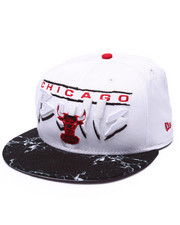 Men - Chicago Bull Marble Sky visor 950 snapback hat