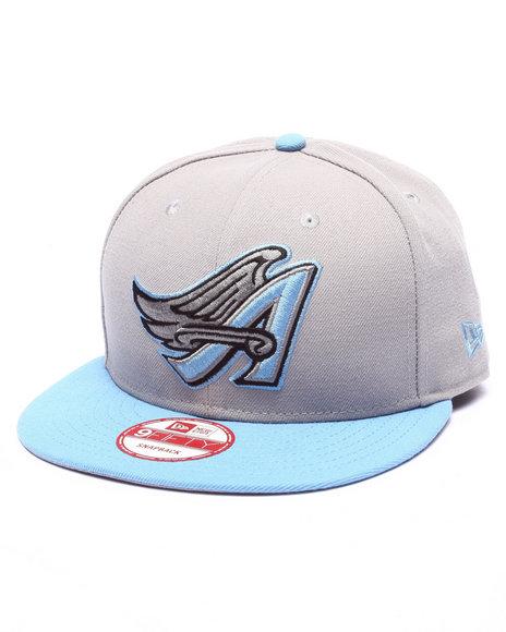 Ur-ID 223953 New Era - Men Grey Anaheim Angels Sku Edition 950 Snapback Hat