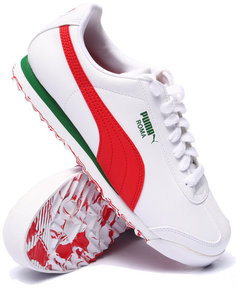 Ur-ID 223960 Puma - Men White Roma L Smash