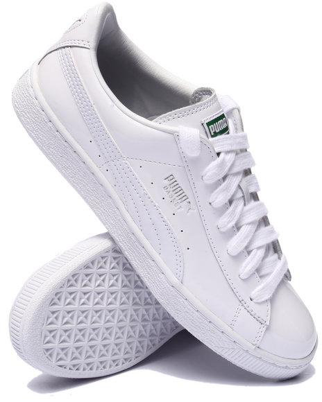 Puma - Men White Basket Matte & Shine