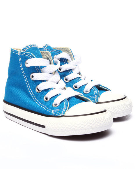 Converse - Boys Blue Chuck Taylor All Star Hi (5-10)