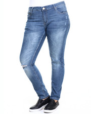 Basic Essentials - Rebel by Right Curvy Fit Skinny Jean (Plus)