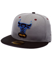 Fitted - Chicago Bulls Bordeaux 3 edition fitted hat
